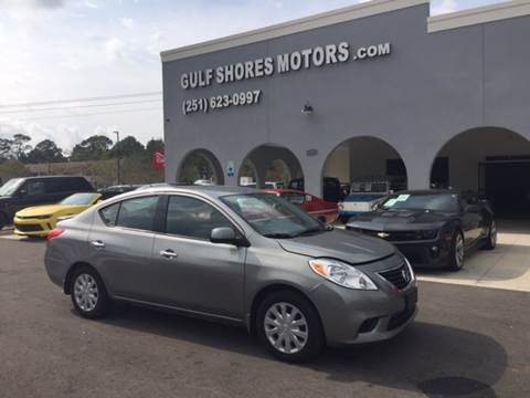 2014 Nissan Versa for sale at Gulf Shores Motors in Gulf Shores AL