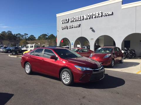 2016 Toyota Camry for sale at Gulf Shores Motors in Gulf Shores AL