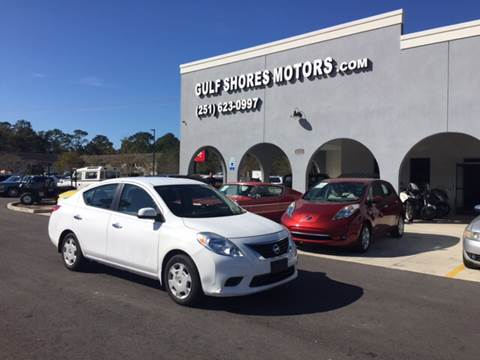 2013 Nissan Versa for sale at Gulf Shores Motors in Gulf Shores AL