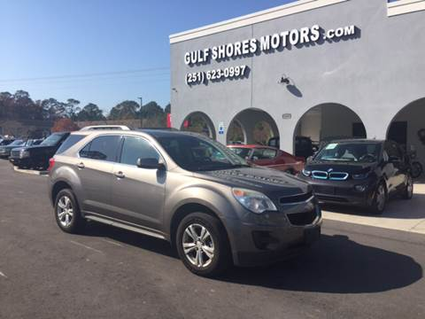 2010 Chevrolet Equinox for sale at Gulf Shores Motors in Gulf Shores AL