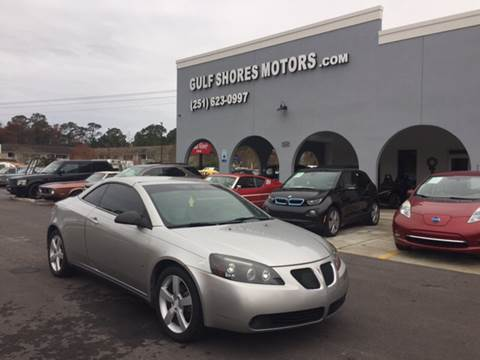 2007 Pontiac G6 for sale at Gulf Shores Motors in Gulf Shores AL