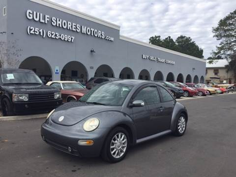 2005 Volkswagen New Beetle for sale at Gulf Shores Motors in Gulf Shores AL