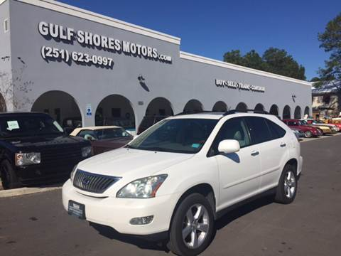 2008 Lexus RX 350 for sale at Gulf Shores Motors in Gulf Shores AL