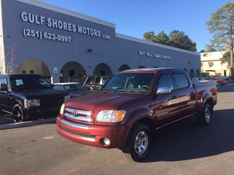 2004 Toyota Tundra for sale at Gulf Shores Motors in Gulf Shores AL