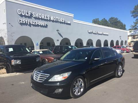 2010 Hyundai Genesis for sale at Gulf Shores Motors in Gulf Shores AL