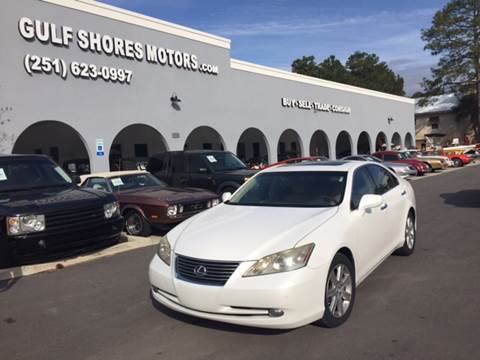 2008 Lexus ES 350 for sale at Gulf Shores Motors in Gulf Shores AL