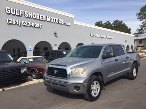 2008 Toyota Tundra for sale at Gulf Shores Motors in Gulf Shores AL