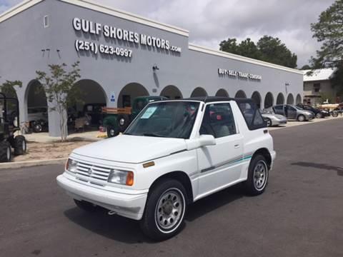 1992 Suzuki Sidekick for sale at Gulf Shores Motors in Gulf Shores AL