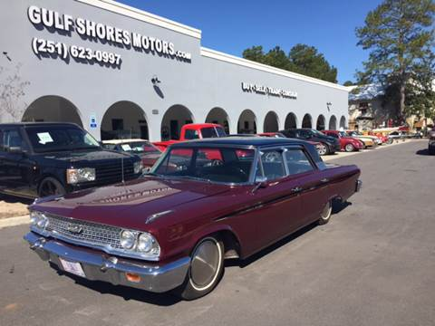 1963 Ford Galaxie 500 for sale at Gulf Shores Motors in Gulf Shores AL