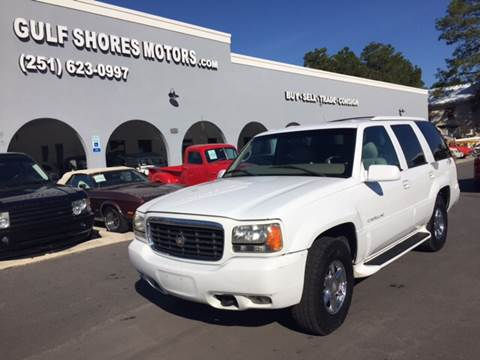 2000 Cadillac Escalade for sale at Gulf Shores Motors in Gulf Shores AL