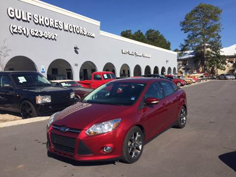 2014 Ford Focus for sale at Gulf Shores Motors in Gulf Shores AL