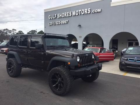 2013 Jeep Wrangler Unlimited For Sale At Gulf Shores Motors In Gulf Shores  AL