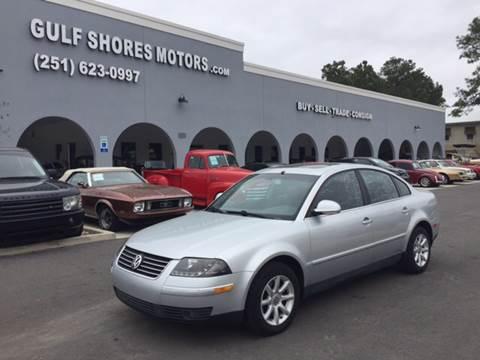 2004 Volkswagen Passat for sale at Gulf Shores Motors in Gulf Shores AL