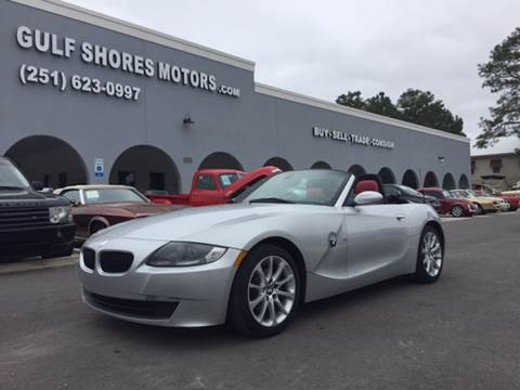 2007 BMW Z4 for sale at Gulf Shores Motors in Gulf Shores AL