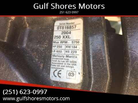 2004 Mercury Salt Water for sale at Gulf Shores Motors in Gulf Shores AL