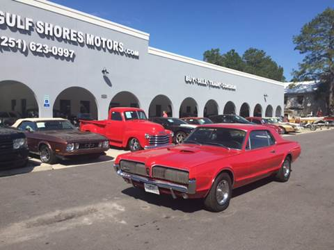 1967 Mercury Cougar for sale at Gulf Shores Motors in Gulf Shores AL