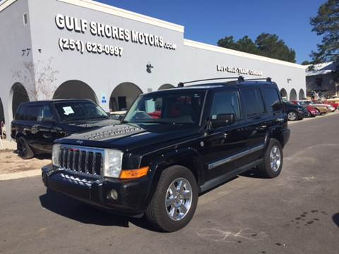 2006 Jeep Commander for sale at Gulf Shores Motors in Gulf Shores AL
