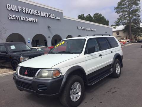 2001 Mitsubishi Montero Sport for sale at Gulf Shores Motors in Gulf Shores AL