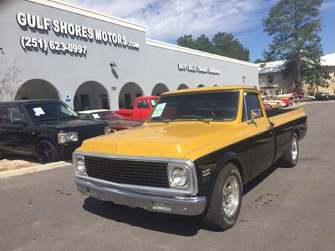 1971 Chevrolet C/K 10 Series for sale at Gulf Shores Motors in Gulf Shores AL