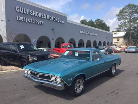 1968 Chevrolet El Camino for sale at Gulf Shores Motors in Gulf Shores AL