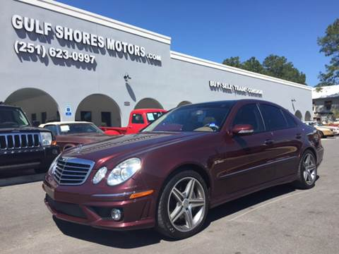 2007 Mercedes-Benz E-Class for sale at Gulf Shores Motors in Gulf Shores AL