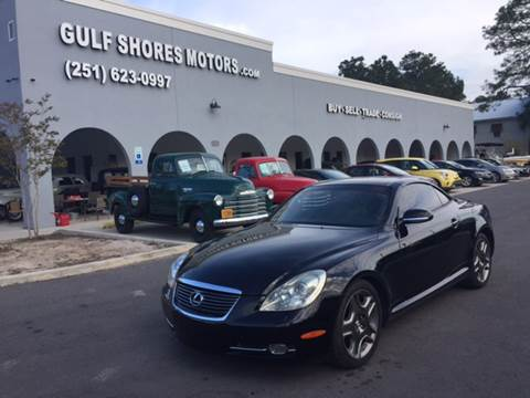 2006 Lexus SC 430 for sale at Gulf Shores Motors in Gulf Shores AL