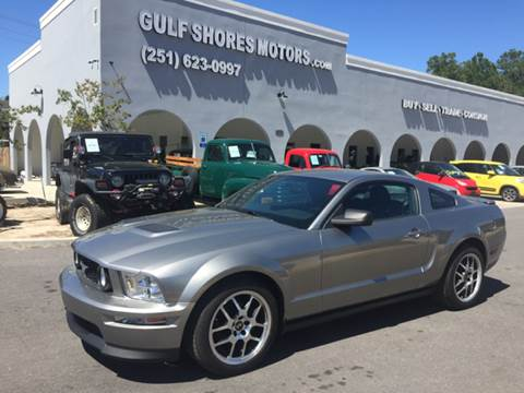 2008 Ford Mustang for sale at Gulf Shores Motors in Gulf Shores AL