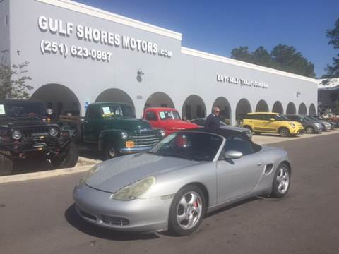 2002 Porsche Boxster for sale at Gulf Shores Motors in Gulf Shores AL