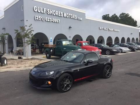 2015 Mazda MX-5 Miata for sale at Gulf Shores Motors in Gulf Shores AL