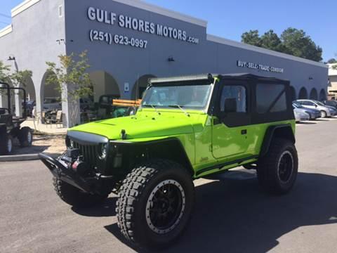 2005 Jeep Wrangler for sale at Gulf Shores Motors in Gulf Shores AL