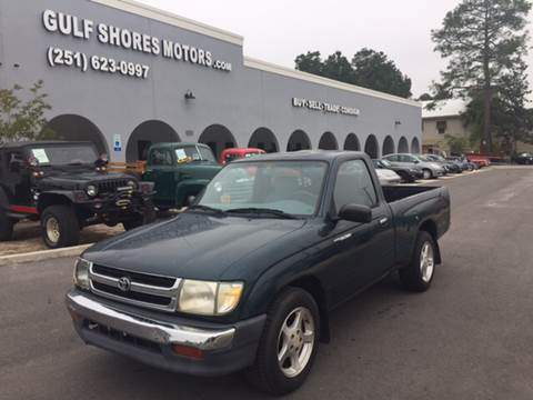 1998 Toyota Tacoma for sale at Gulf Shores Motors in Gulf Shores AL