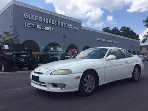 1998 Lexus SC 400 for sale at Gulf Shores Motors in Gulf Shores AL