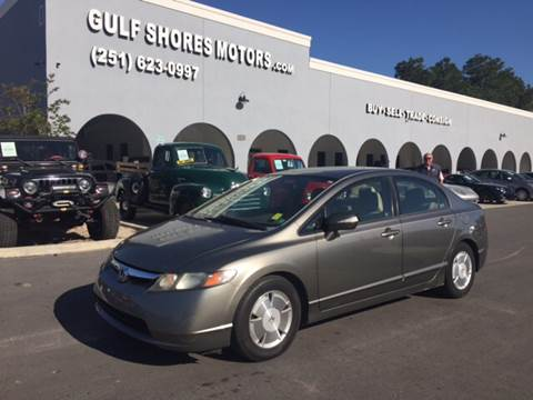 2006 Honda Civic for sale at Gulf Shores Motors in Gulf Shores AL