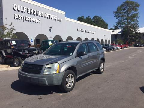 2005 Chevrolet Equinox for sale at Gulf Shores Motors in Gulf Shores AL