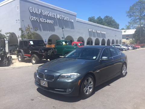 2011 BMW 5 Series for sale at Gulf Shores Motors in Gulf Shores AL