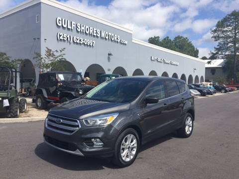 2017 Ford Escape for sale at Gulf Shores Motors in Gulf Shores AL