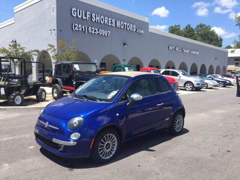 2012 FIAT 500c for sale at Gulf Shores Motors in Gulf Shores AL