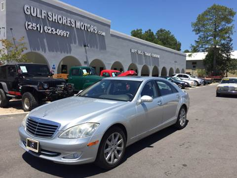 2007 Mercedes-Benz S-Class for sale at Gulf Shores Motors in Gulf Shores AL