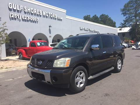 2004 Nissan Armada for sale at Gulf Shores Motors in Gulf Shores AL