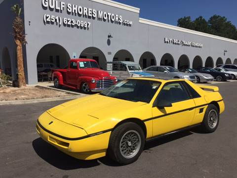 1988 Pontiac Fiero for sale in Gulf Shores, AL