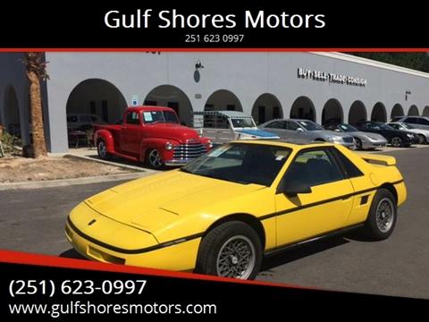 1988 Pontiac Fiero for sale at Gulf Shores Motors in Gulf Shores AL