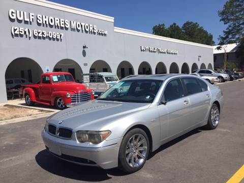 2003 BMW 7 Series for sale at Gulf Shores Motors in Gulf Shores AL