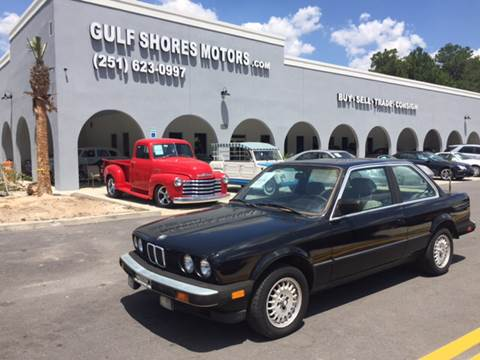 1984 BMW 3 Series for sale at Gulf Shores Motors in Gulf Shores AL