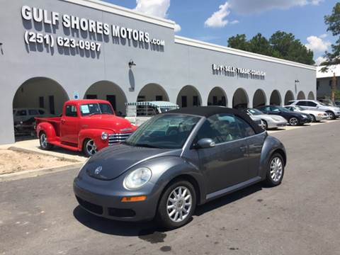 2006 Volkswagen New Beetle for sale at Gulf Shores Motors in Gulf Shores AL
