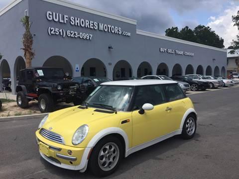 2003 MINI Cooper for sale at Gulf Shores Motors in Gulf Shores AL