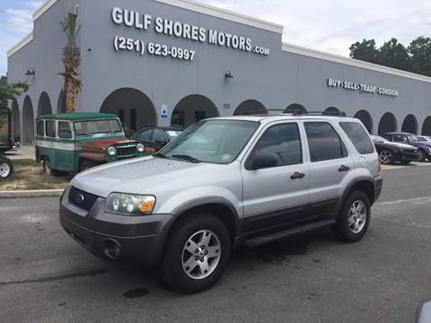 2005 Ford Escape for sale at Gulf Shores Motors in Gulf Shores AL
