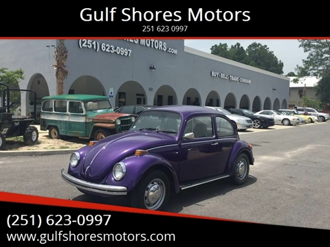 1973 Volkswagen Beetle for sale at Gulf Shores Motors in Gulf Shores AL