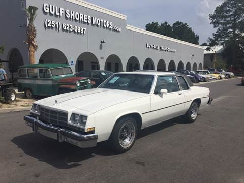 1983 Buick LeSabre for sale at Gulf Shores Motors in Gulf Shores AL