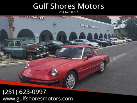 1988 Alfa Romeo Spider for sale in Gulf Shores, AL