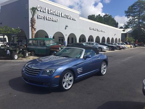 2005 Chrysler Crossfire for sale at Gulf Shores Motors in Gulf Shores AL